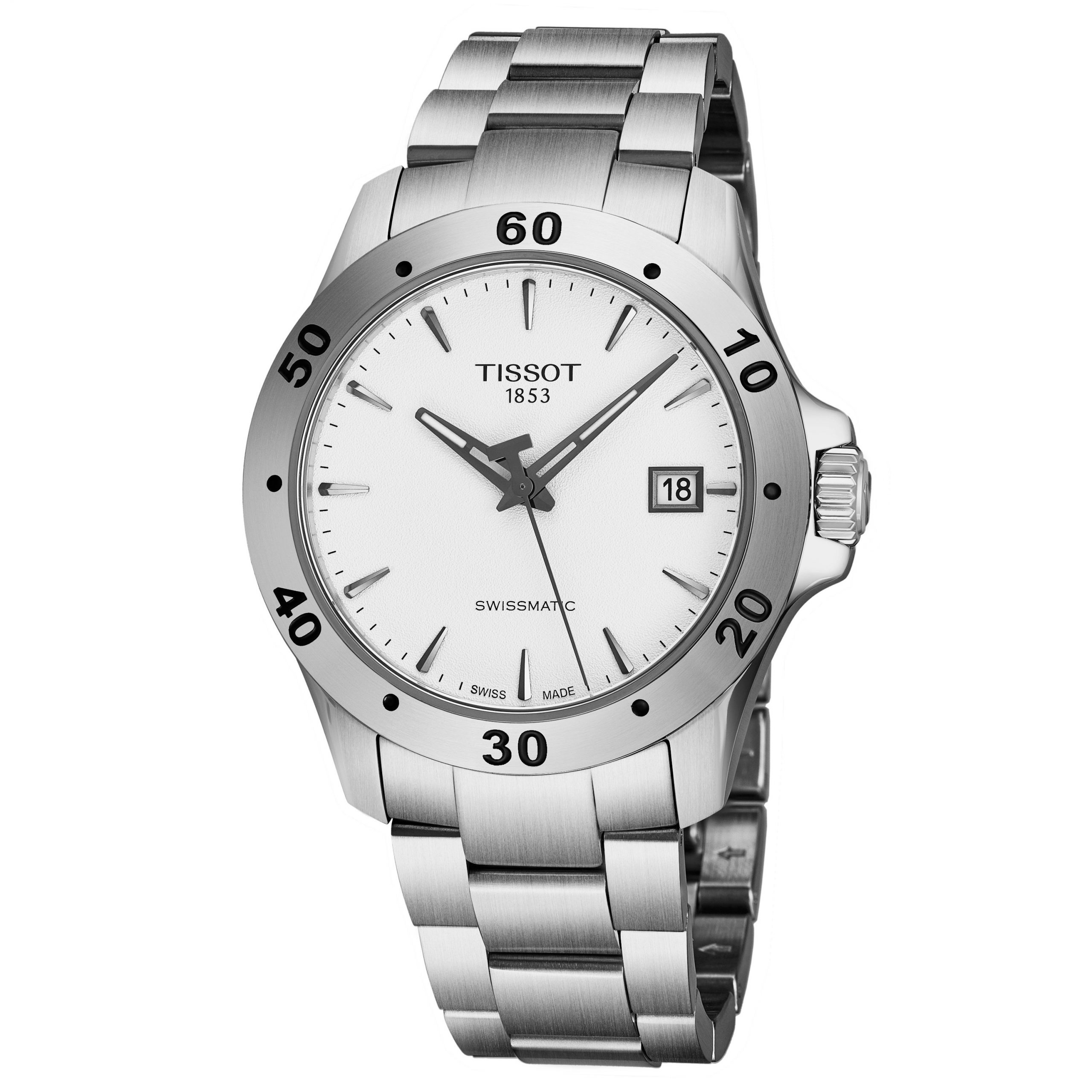 Tissot Men's V8 Swissmatic Watch T1064071103101