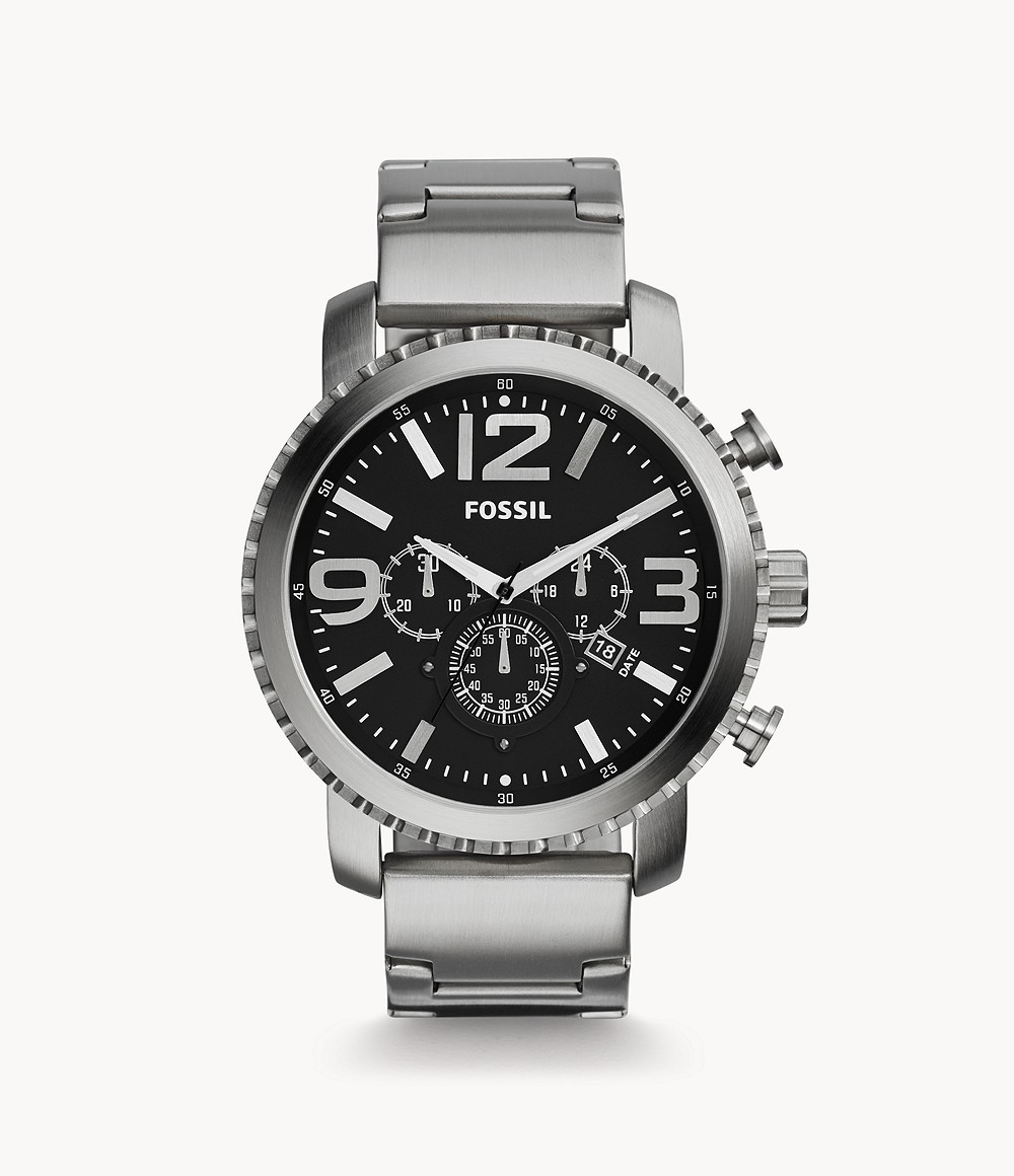Fossil Men's Gage Chronograph Stainless Steel Watch BQ1708