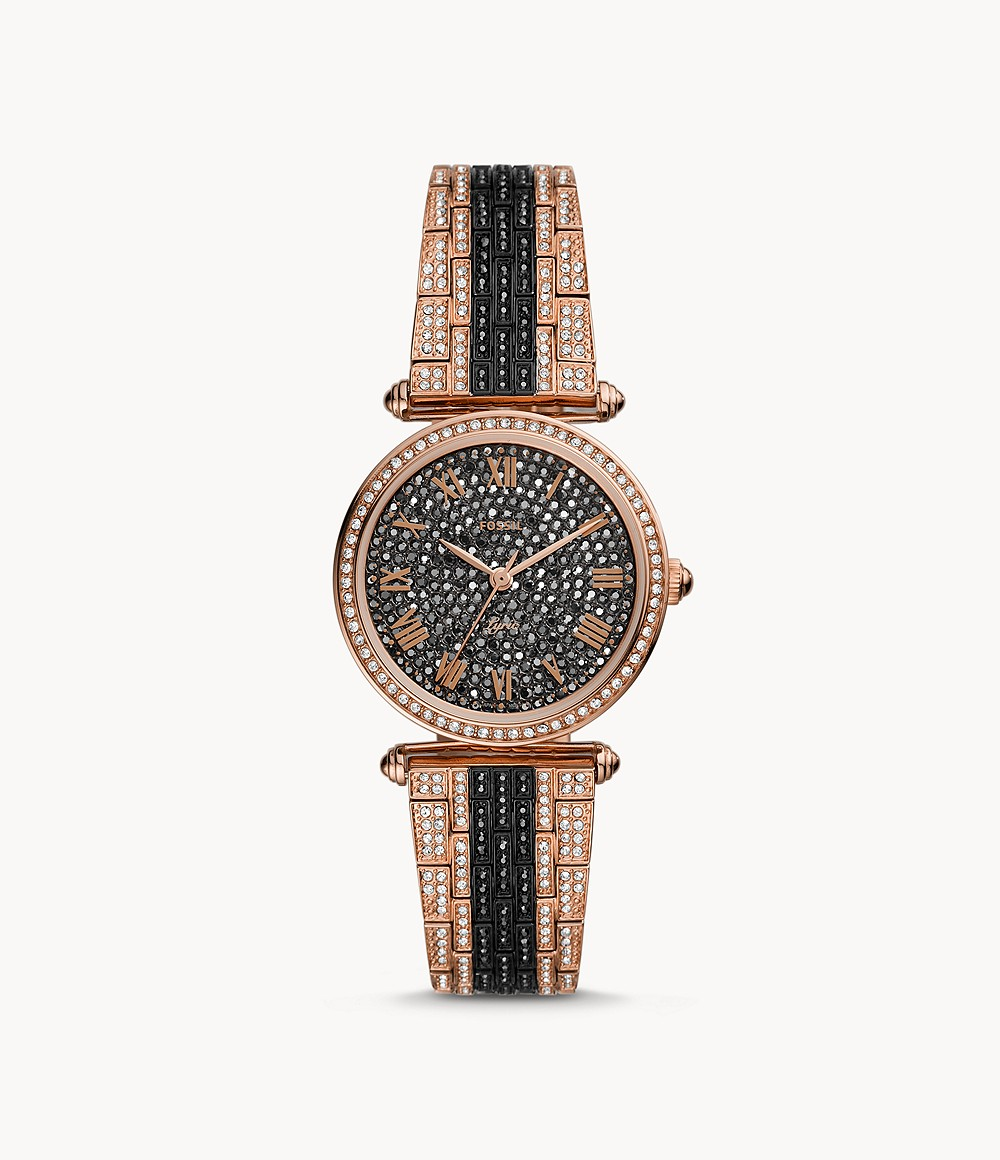 Fossil Women's Limited Edition Lyric Three-Hand Two-Tone Stainless Steel Watch LE1075
